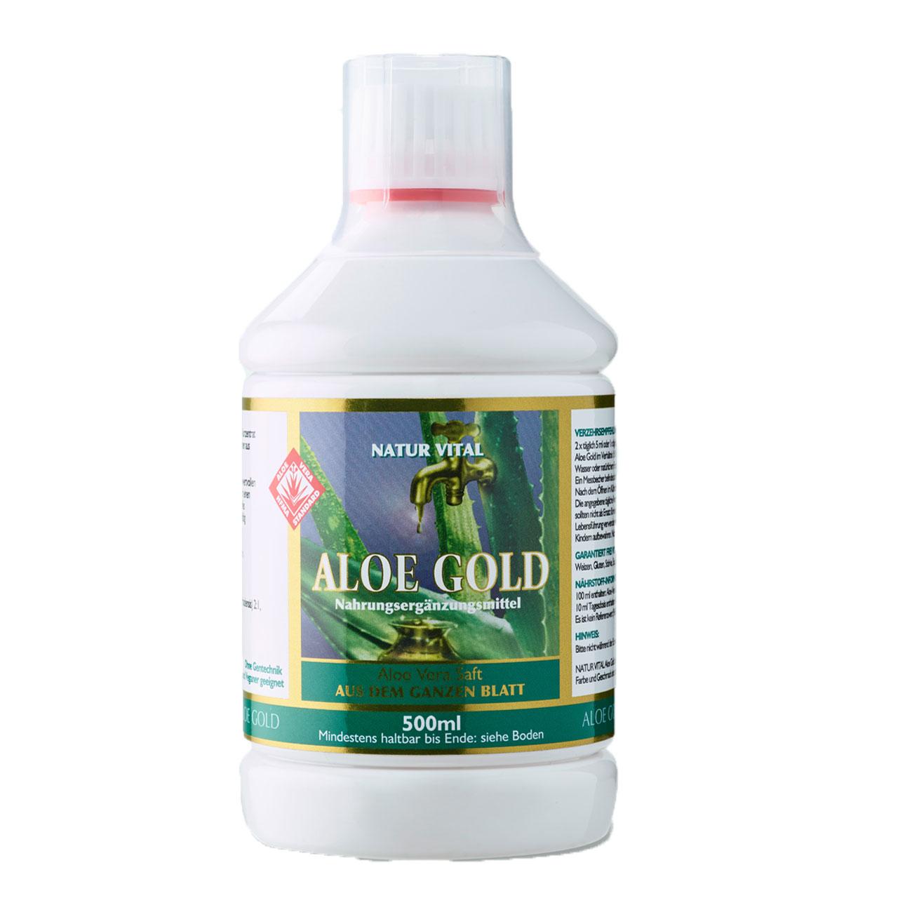Aloe Gold (Saft), 500 ml