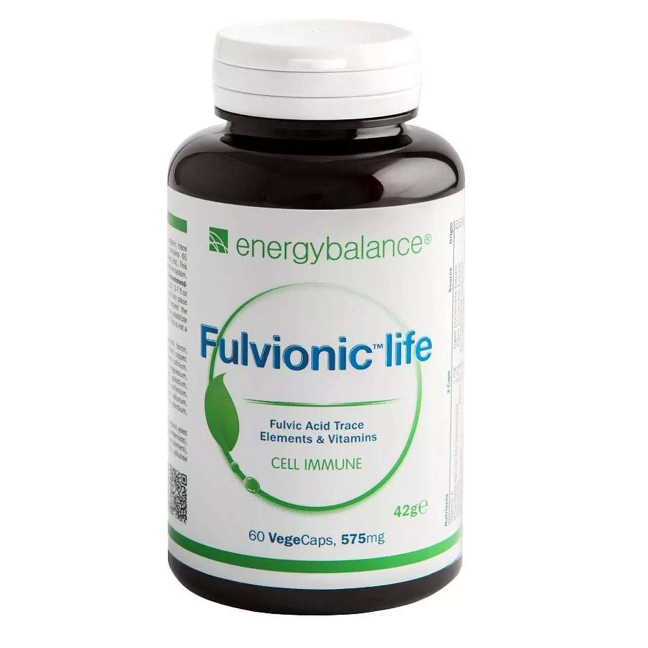 Fulvionic life, 60 VegeCaps