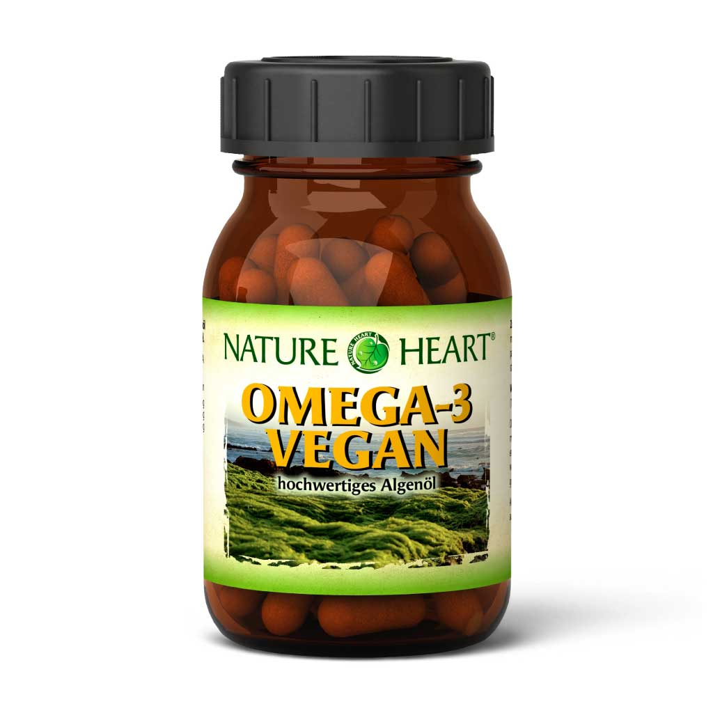 Omega-3 vegan, 60 Kapseln
