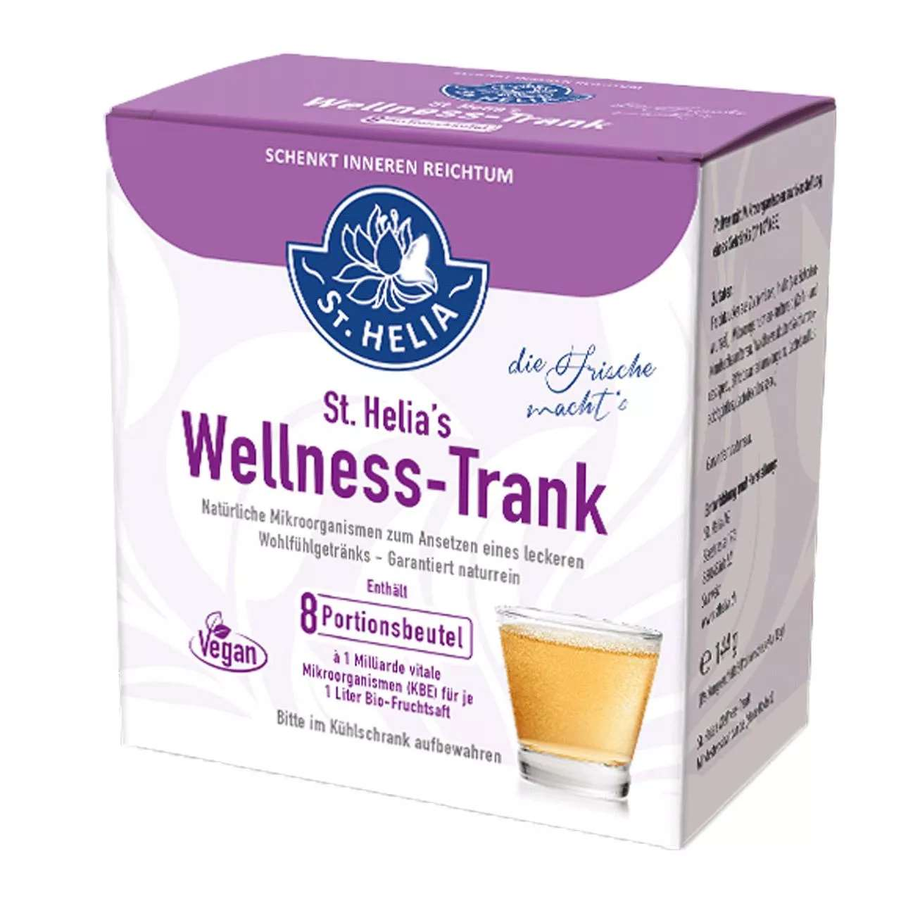 St. Helia's Wellness-Trank, 8 Port.beutel, vegan
