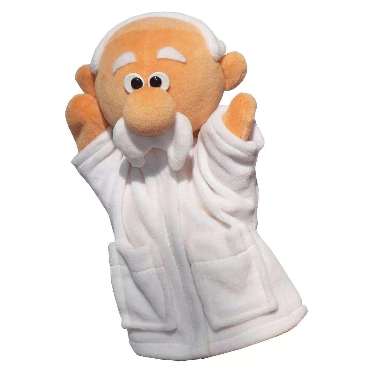 Handpuppe Arzt
