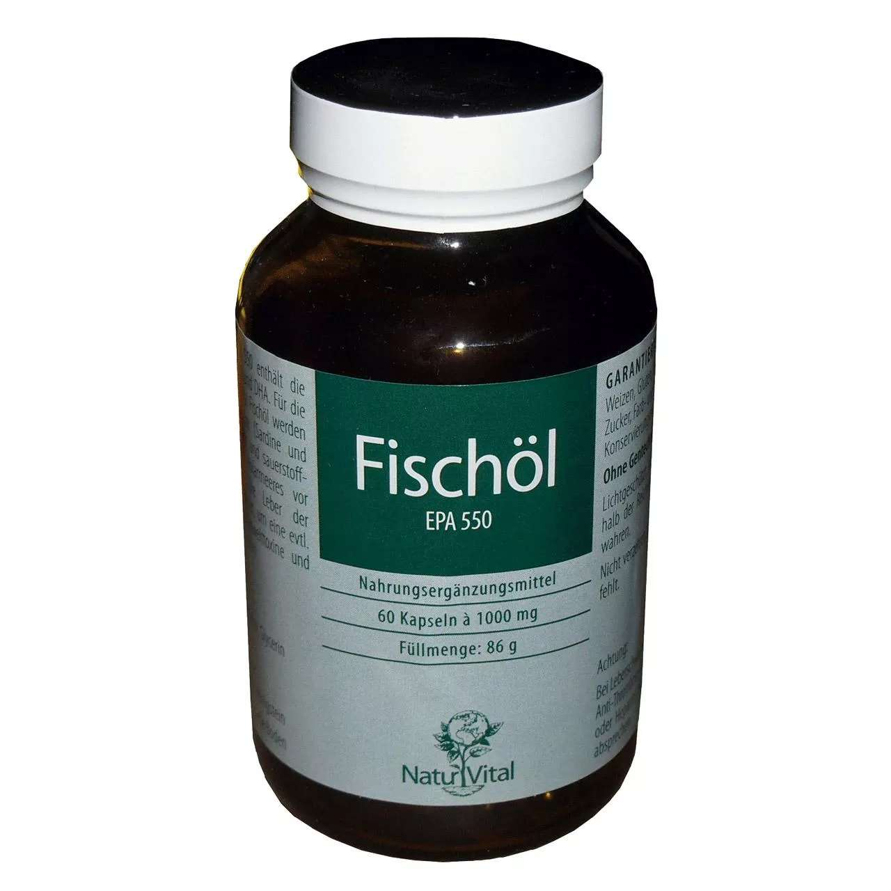 Fischöl EPA 550, 60 Kapseln