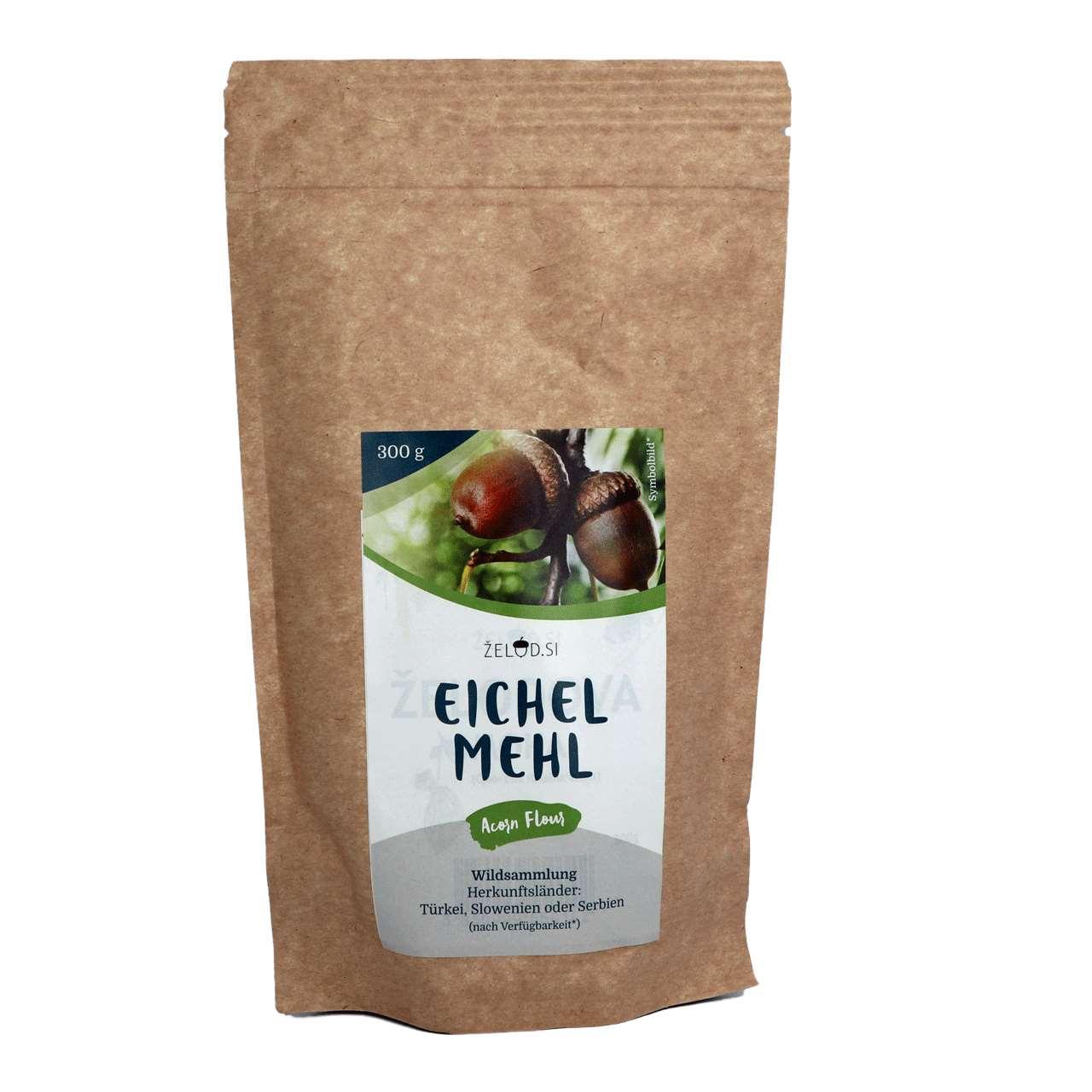 Eichelmehl aus Wildsammlung LE, 300 g
