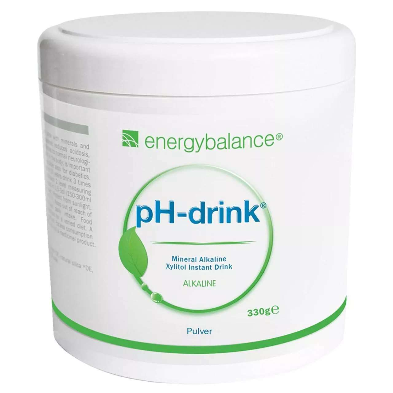 pH-drink Xylitol Basendrink, 330 g Pulver
